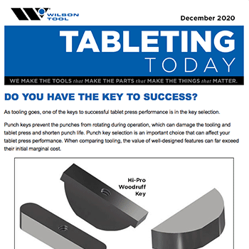 Tableting Today e-Newsletter December 2020