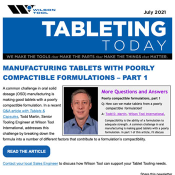 Tableting Today e-Newsletter July 2021