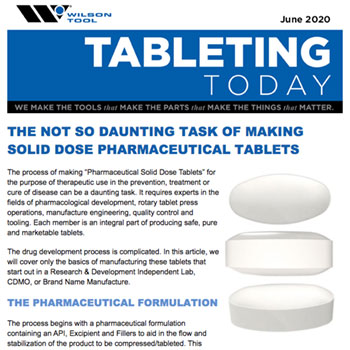 Tableting Today e-Newsletter June 2020