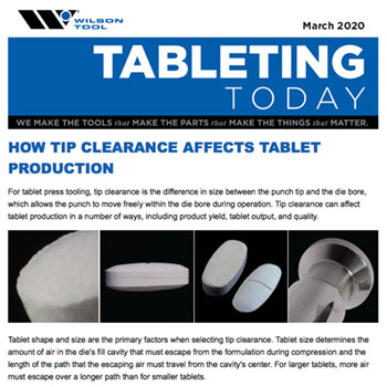 Tableting Today e-Newsletter March 2020