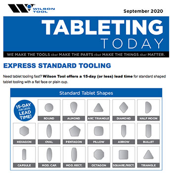 Tableting Today e-Newsletter September 2020