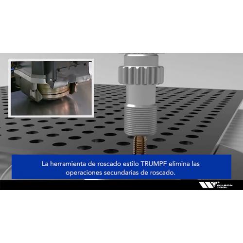 Herramienta de roscado estilo-TRUMPF Wilson Tool International