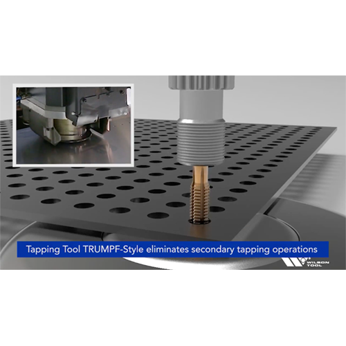 Vidéo de l'outil de taraudage Wilson Tool style TRUMPF