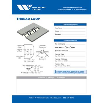 Thread Loop Template