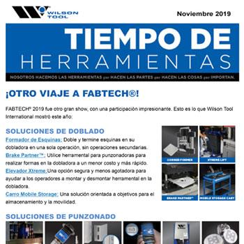 Tiempo de Herramientas – Noviembre 2019