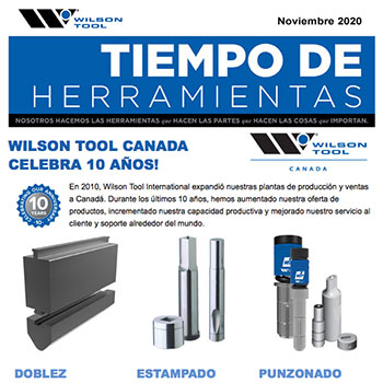 Tooling Times e-Newsletter November 2020