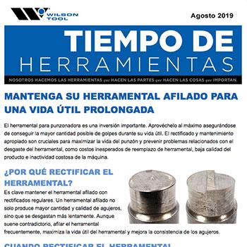 Tiempo de Herramientas Agosto 2019
