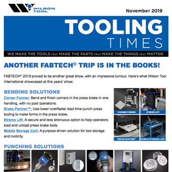 Tooling Times November 2019 Bending Preview