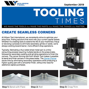 Tooling Times e-Newsletter September 2019
