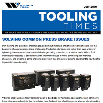 Tooling Times e-Newsletter July 2019