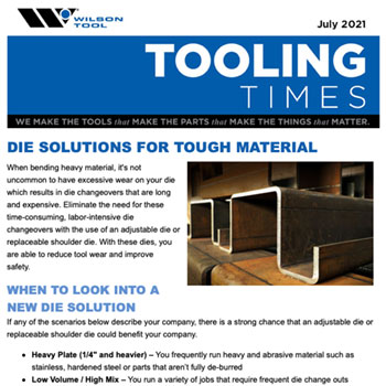 Tooling Times e-Newsletter July 2021