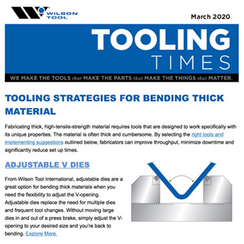 Tooling Times e-Newsletter March 2020