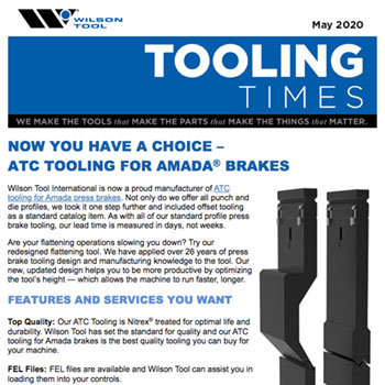 Tooling Times e-Newsletter May 2020