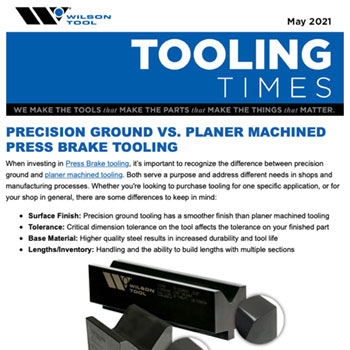 Tooling Times e-Newsletter May 2021