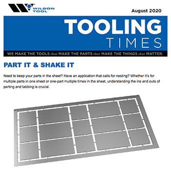 Tooling Times e-Newsletter August 2020