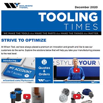 Tooling Times e-Newsletter December 2020