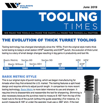 Tooling Times e-Newsletter June 2019