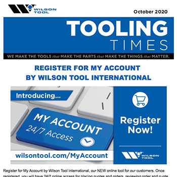 Tooling Times e-Newsletter October 2020