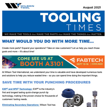 Tooling Times August 2021