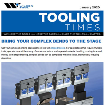 Tooling Times e-Newsletter January 2020