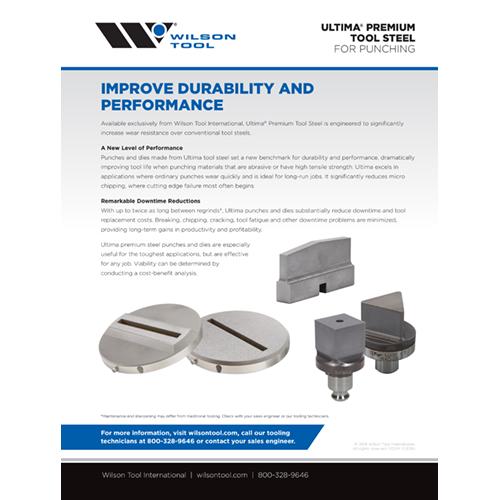 Ultima® Premium Tool Steel Flyer