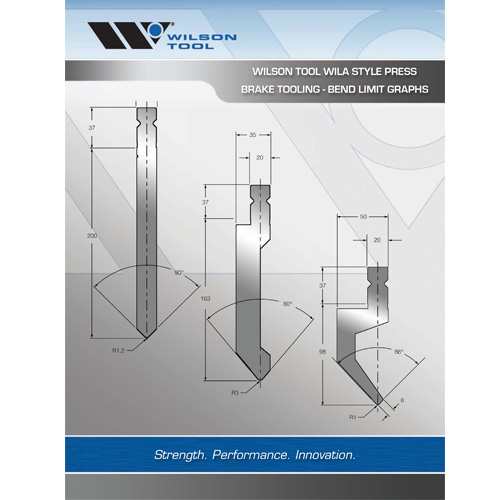 Wila® Style Tooling Bend Limit Graphs