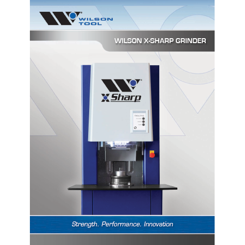 X-Sharp™ Grinder Brochure