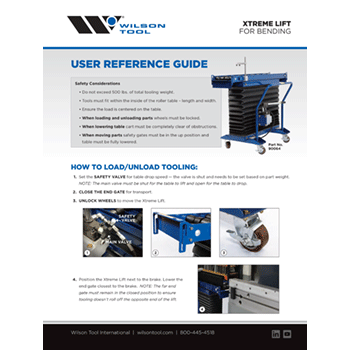 Xtreme Lift User Guide