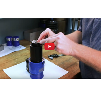 Adjusting the tap length on your QuickTap® Tapping Tool.