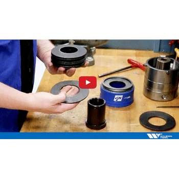 How to Replace worn or broken springs in your large station thick turret guide assembly