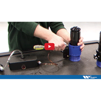 How to Purge Air from the Coolant System of the QuickTap® Tapping Tool