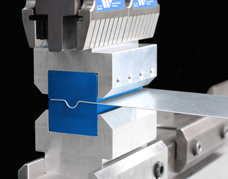 Wilson Tool Additive Press Brake Tooling in Machine