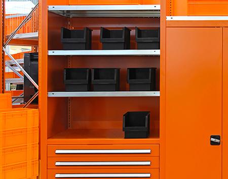 Connective Forms Shelving Unit